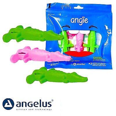 Angelus Angie Dental Anesthesia Syringe Sleeve Carpule Green Pink Kit 3 Pcs