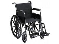 Betterlife Silver Sport Self Propel Wheelchair