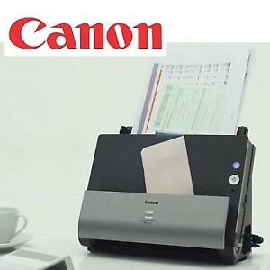 OB CANON OFFICE DOCUMENT SCANNER DR-C225W 213118645 IMAGEFORMULA BLACK GREY OPEN BOX