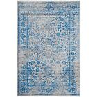 Blue Polypropylene Traditional-Persian/Oriental Area Rugs