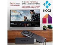 Amazon Fire Stick KODI 16.1 Fully-Loaded✔️Sports✔️Movies✔️TV✔️Kids✔️Adult