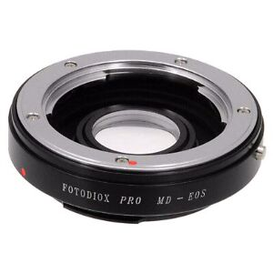 Fotodiox Lens Mount Adapter, Minolta MD, MC Rokkor to Canon EOS  West Island Greater Montréal image 3