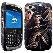 Blackberry Curve 8520 Skull Case