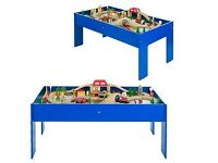 Chad Valley wooden train set and table