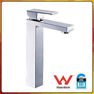 Royal - Square Basin Mixer (High) - 250 mm Bathroom Faucet
