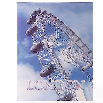 3D Bild London Eye 29 x 39,5 cm