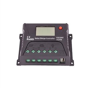 HQST 10AMP PWM SOLAR CHARGE CONTROLLER