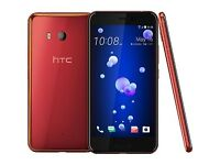 HTC U11 RED COLOUR DUAL SIM UNLOCKED 128-GB 6-GB RAM SMART PHONE BRAND NEW BOX SEAL PACK