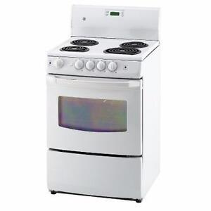 4 modèles de cuisinières 24'' blanches! GE