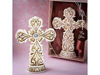Exquisite Baroque design Cross statue - £5.15 Plus P&P
