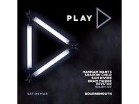 2 tickets Hannah Wants, Shadow Child etc at Bournemouth O2 Sat 4th March
