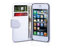 Wholesale Joblot 184 Iphone 5/5s Phone cases Pu Leather flip and Wallets blue white Pink RRP £918.00