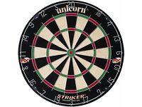 Dart Board - Unicorn Striker. Brand New unused still in box.
