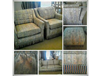 Wade - 2 SOFAS, 2 ARMCHAIRS, 2 STORAGE FOOTSTOOLS ( Will Split )