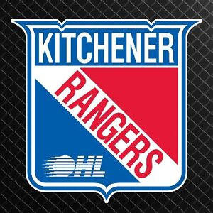 2 Premium Aisle Gold 1st Row Visitor Bench Kitchener Rangers