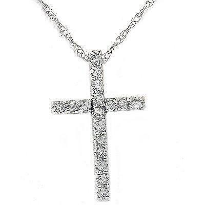 cross stainless necklace men at chain pendant steel metal jesus p