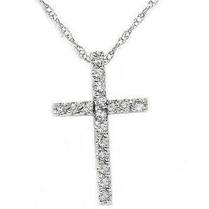 womens cross necklace ebay. Black Bedroom Furniture Sets. Home Design Ideas