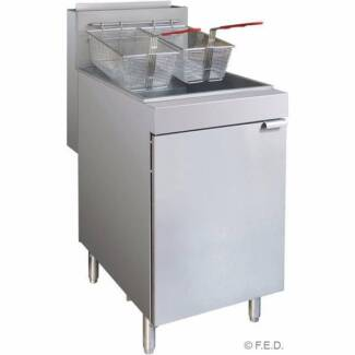 F.E.D RC300 - Superfast Natural Gas Tube Fryer Commercial Gas Coo