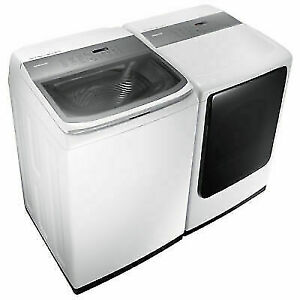 SAMSUNG HE LAUNDRY PAIR $1,448.00-- SAVE $600.00