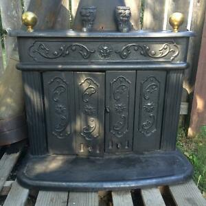 Antique Franklin Fireplace