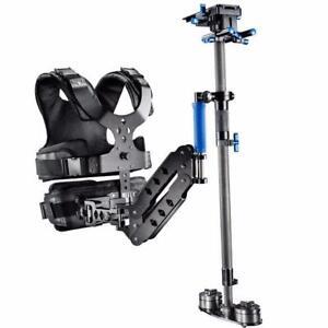 DSLR Carbon Fiber Steadycam Kit with Vest/ Arm/Stabilizer