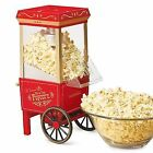 Nostalgia Electric & Air Popcorn Maker Popcorn Makers without Custom Bundle