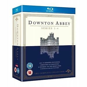 Downton-Abbey-Series-1-4-Complete-Blu-ray-2013-13-Disc-Set-Box-Set
