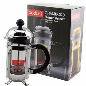 Bodum 1923-16US4 Chamord 3-Cup Coffee Maker - Shiny