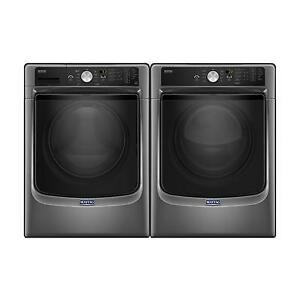 Combo laveuse-sécheuse Maytag 27 po, Chargement frontal, Showroom