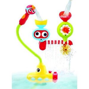 Submarine spray station bath baby toy