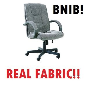 JYSK --- BUNGIE Office Chair (in REAL FABRIC!!) --- $140 OBO!!
