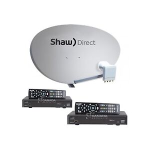 SHAW DIRECT SATELLITE  DISHES, RECEIVERS, LNB'S
