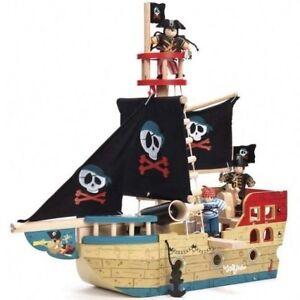 Bâteau de pirate de Jolly de Le Toy Van