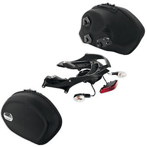 NEW-Ducati Diavel Semi Rigid Side Panniers Kit, Part #96780011A