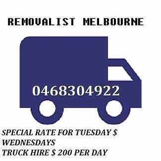 TRUCK AND ONE MAN FOR $35 P/H-04 66.9 81.2 59