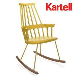 NEW* KARTELL YELLOW ROCKING CHAIR - 130226377 - W58xH100xD58cm