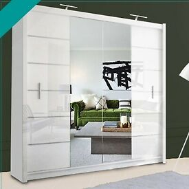 Sale! Clearance Sale!! STYLISH Mirror Sliding Door Wardrobe AVALIBLE IN CHEAPEST PRICE EVER 🎇💐