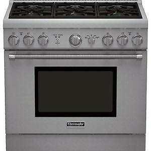 36-inch Freestanding Gas Range with Star Burners