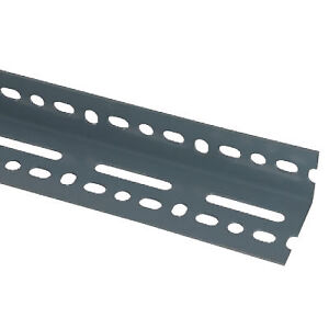 Slotted angle for shelving or utility use