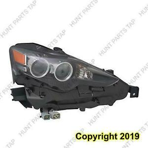 Headlight Passenger Side Led Sedan High Quality Lexus IS350 2014-2015