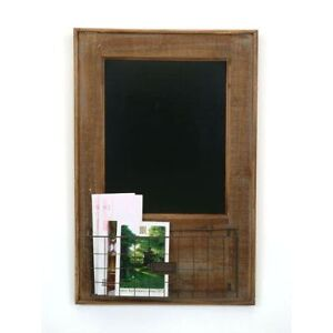 Rustic French Country Brown Chalkboard with Wire Basket Cambridge Kitchener Area image 1