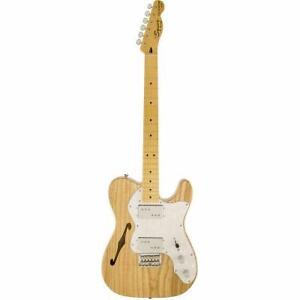 Telecaster Thinline '72 MN Naturelle Squier  0301280521