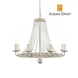 NEW NAPLES CANDLE STYLE CHANDELIER L430SCHANWHT 221115278 SMALL AIDAN GRAY