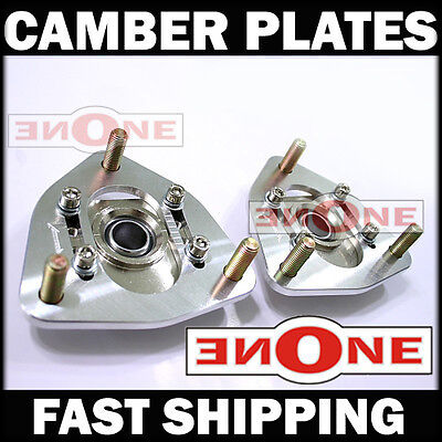- MK1 PillowBall Adjustable Camber Kit Plates SENTRA SE-R Coilover Kits