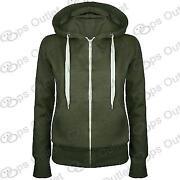 Womens Khaki Green Jackets