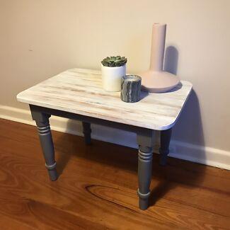 **Retro Shabby Chic Refurbished Coffee Table**
