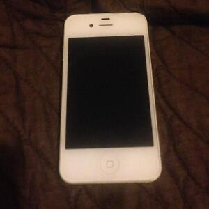 White iPhone 4 LIKE NEW $100
