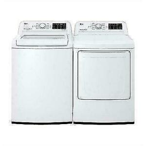 Huge Saving On LG and Samsung Top Load Washer and Dryer Start from $499.99 Each