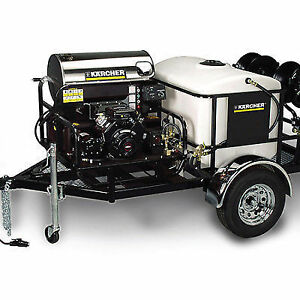 KARCHER PRESSURE WASH TRAILER -- LEASING AND FINANCE AVAILABLE!!