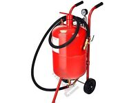 10 gallon portable sandblaster. Unboxed and never used.